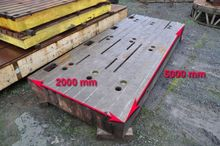 T-slot table 5000 x 2000 x 400