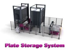 Remmert/Bystronic Plate storage