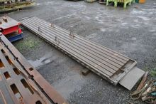 T-slot table 8000 x 1350 mm