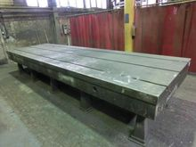 T-slot table 5000 x 1500 mm