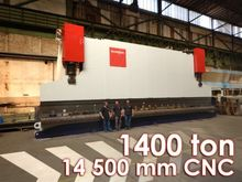 Bystronic Mammut 1400 ton x 14