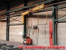 Used Jib crane 1 ton