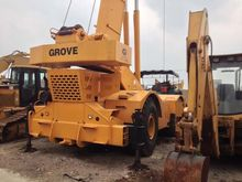 Used GROVE RT 750 in