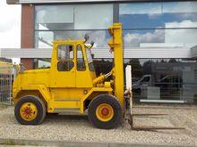 1985 Ljungby 7 Ton Forklift
