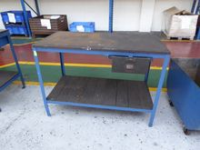 Wooden Topped Workbench