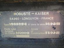 Used 1978 ROBUSTE-KA