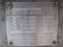 1988 TRAILOR S33 - ALU - STEEL