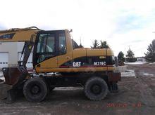 2006 Caterpillar M316C Wheeled