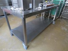 Stainless steel work table, mob