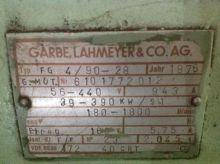 GARBE-LAHMEYER DC-motor 390 kW