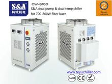 S&A water-cooled dual pump chil
