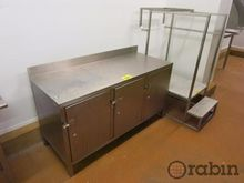 Stainless Cabinet & Step Stair