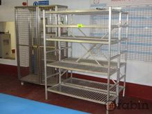 Shelving and Cage