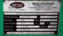 2007 WDM Machine Tools #B5-100