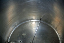 1,000 gallon Stainless Steel C.