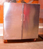 Used portable aluminium storage