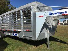 "2016 Gooseneck 24' x 6'-8"" Alum"