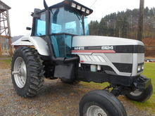 Used AGCO White 6124
