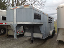 Big valley 3 Horse trailer