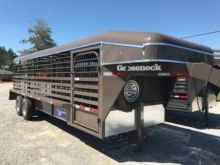"2017 Gooseneck 24' x 6'8"" Steel"