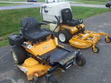 Misc zero turn mowers