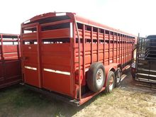 1995 Titan Livestock Trailer