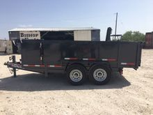 2017 Texas Made Trailers DT7141