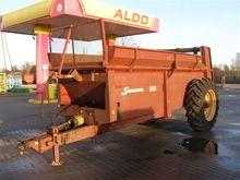 A151215 manure spreader SAMSON