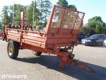 A manure spreader JEANTIL 15070