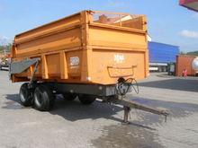 Tipper trailer DEMAREST A160520