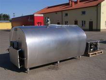 Milk cooling tank PACKO 4400 L
