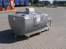 Milk cooling tank SERAP 1200l,