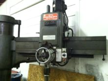 IKEDA 5 FOOT RADIAL ARM DRILL W