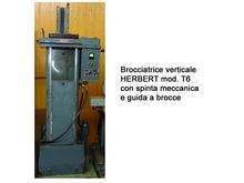 BROACHING MACHINES ERBERT 6 T.
