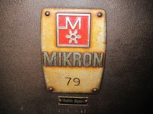 GEAR MACHINES MIKRON 79 USED