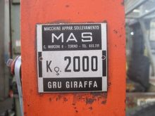 Used FORKLIFT MAS -