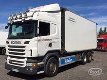 2011 Scania R480LBMNA 6x2 Wood
