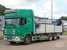 2000 Scania R144GBNB460 6x4 Fla