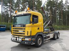 2003 Scania R124GB NA470 6x4 Ho