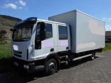 2012 Iveco Eurocargo Koffer 80