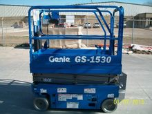 GENIE GS1530 Scissor Lift Stock