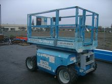 GENIE GS2668RT Scissor Lift Sto
