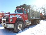MACK Triaxle Dump Truck