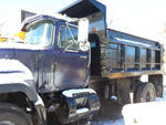 Used MACK Single Axl