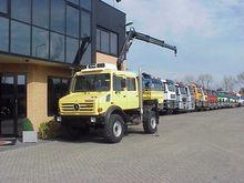 2004 Unimog u 4000 4x4 + crane