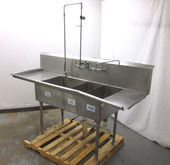 "Stainless Steel 86"" Commercial"