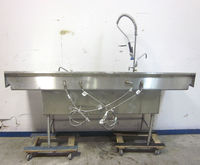 Wasserstrom 4-Bowl Stainless Si