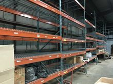 Pallet Rack two 10' sections