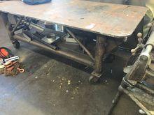 "Steel Welding Table 100"" x 44"""