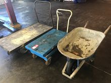 "Lift Table Cart Bishimon 40"" x"